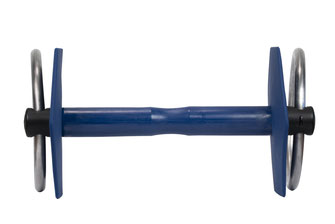 Mors à anneaux gamme classique vue de face I-Bride Strong flex -