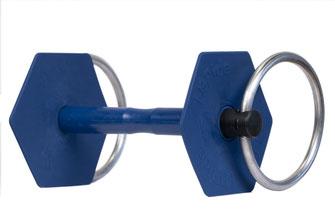 Mors à anneaux gamme classique vue de 3/4 I-Bride Strong flex -