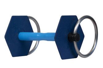 Mors à anneaux gamme classique vue de 3/4 I-Bride Strong flex +